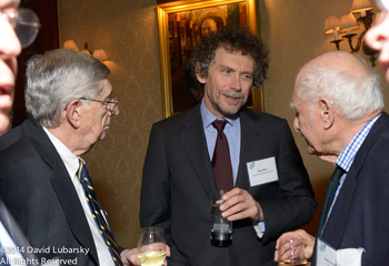 Gary Born attending a dinner in his honor at The University Club